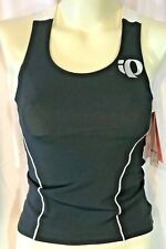 Ladies Singlet Pearl Izumi Nwt Elite Tri Support Blk Pinstripe Sz Xs Form Fit W2