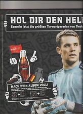 Euro / EM 2012 Panini - Coca Cola: 10 volle Promo-Tüten Manuel Neuer,