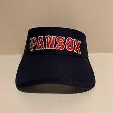 Pawtucket Red Sox Adjustable Visor Hat Minor League Baseball Mens One Size