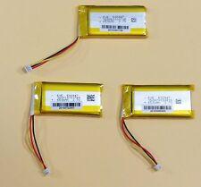 650mAh 3.7V Lipo Battery Lot of three (3)