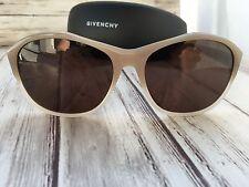 GIVENCHY SGV 872 Sonnenbrillen Original Eyeglasses Damen Beige und Etui 64*