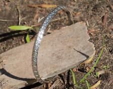 Tribal Print Bangle Fine Sterling Silver New Jewellery Solid Adjustable Bracelet