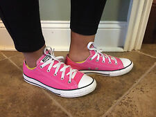 Converse All Star Pink Girl's Shoes 3 Junior Great Pre-Owned