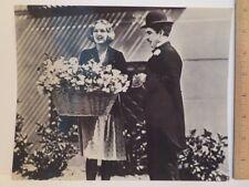 "Press Photo Charlie Chaplin City Lights 8"" x 10"" Black and White"