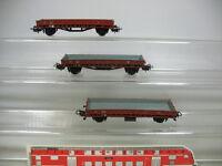AD130-0, 5 #3x Märklin / Marklin H0 313/1 Vagón Plataforma / 476315 Rmms33 DB