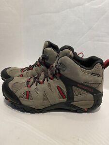 Merrell Deverta 2 Mid Hiking Shoes Men's Sz 10.5 Outdoor Waterproof