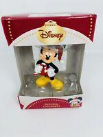 Disney Santa Mickey 3D Figural Resin Christmas Holiday New Boxed