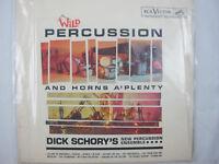 Dick Schory Wild Percussion Horns A Plenty RCA Victor Record LP Vinyl LSP 2289