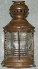 Hutchinson Boston Triplex Nautical Lantern 1910