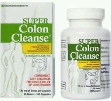 Super Colon Cleanse Stimulant Laxative Capsules, 100 count