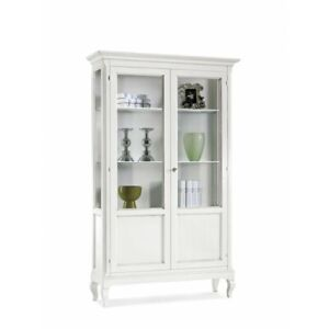 Showcase 2 Doors White Matt 126X44X207H