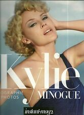 BOOK / LIVRE - KYLIE MINOGUE : PHOTOS & BIOGRAPHY / COMME NEUF - LIKE NEW