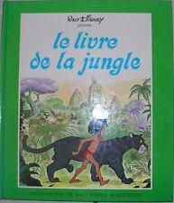 Livre jeunesse  d'occasion - Le livre de la jungle - Walt Disney