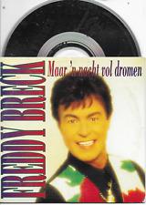 FREDDY BRECK - Maar 'n Nacht Vol Dromen CD SINGLE 2TR Dutch Cardsleeve 1994 RARE