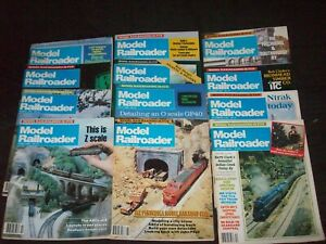 Model Railroader Complete Year 1985 (12 Issues)