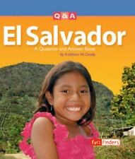 El Salvador: A Question And Answer Book (Fact Finders)-ExLibrary
