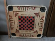 "27.5"" Large Carrom Wooden Board Game With Coins And Striker"