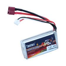 7.4V 1500mAh 20C T Plug Lipo Battery Power For WLtoys V913/L959/L969/L202/K959