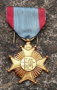 Belgian Centenary Cross RTT Telegraphic Service Commemorative Medal 1846 1946
