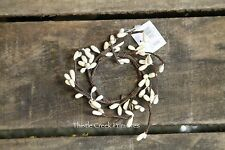 """Pip Berry Candle Ring - IVORY - 1 1/4"""""""