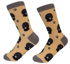 Labradoodle black Socks Unisex Dog Cotton/Poly One size fits most