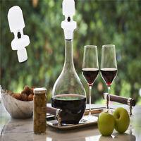3pcs Reusable Red Wine Bottle Sealing Plug Cap Stopper Bar Tools Wine Lid