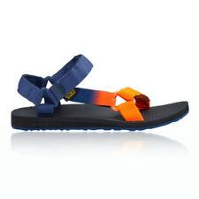 Sandali e scarpe blu sintetico con velcro per il mare da uomo