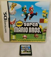 Nintendo DS New Super Mario Bros Brothers - FULLY TESTED GREAT FAMILY GAME
