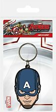 Porte-clés Captain America 6cm Caoutchouc Pyramid International