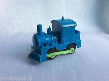 Vinyl Line Train Lokomotive Locomotive Vynil Gummi W. Germany Model (Blue)