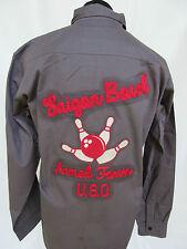Us Army u. S.O.Saigon Bowl Armed Forces Tour Bowling Shirt 101st Airborne #2 XL