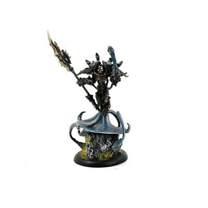 CRYX Lich Lord Asphyxious METAL #1 WELL PAINTED Warmachine