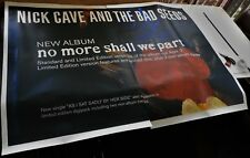 NICK CAVE NO MORE SHALL WE PART ALBUM RARE MUSIC PROMO BILLBOARD POSTER 1x1.5m