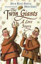 The Twin Giants Dick King-Smith Mini Grey Hardback Fun Fairy Tale Picture Book