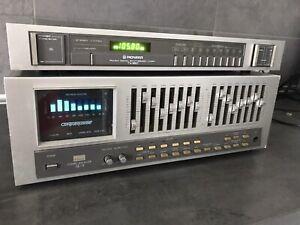 Sansui SE-9 Compu-Equalizer Plus Pioneer TX-950