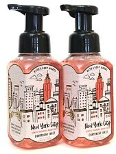 2 BATH & BODY WORKS NEW YORK CITY CHAMPAGNE TOAST GENTLE FOAMING HAND SOAP 8.75