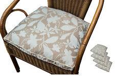 Geblümte Gartenmöbel-Auflagen Sets aus Polyester