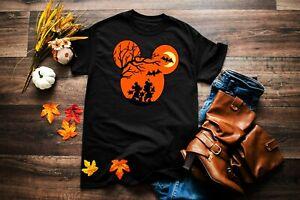 Disney Mickey Mouse Minnie Mouse Scary Halloween Shirt | Disney Shirt