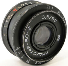 ⭐SERVICED⭐ INDUSTAR 50-2 50mm f/3.5 Russian Soviet USSR Lens Screw Mount M42