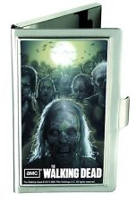 AMC The Walking Dead Logo Business Card Holder Horror Gore Zombies