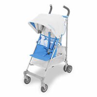 MACLAREN Silver & Marina Blue VOLO Stroller Pushchair Buggy, up to 25kg