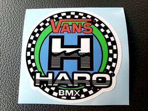 BMX HARO Vans Sticker old school decal