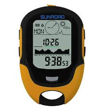 Waterproof FR500 Multifunction LCD Digital Altimeter Barometer Compass Clock