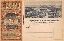 C3391) GENOVA 1899. ESPOSIZIONE RECLAMES ARTISTICHE, CENTENARIO DI S. GIOVANNI.