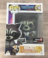 Funko Pop! Marvel - Rocket #210 GameStop Exclusive B04