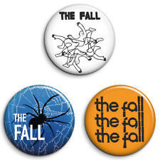 3 THE FALL, MARK E SMITH 25mm Badges. GREAT VALUE. FREE POST