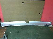 1998 - 2004 Cadillac Seville  SLS upper trunk finish panel SILVER  Used OEM