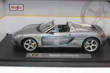 Maisto 36622 Porsche Carrera Gt Plata Metálico Premier Edición 1:18 Nuevo