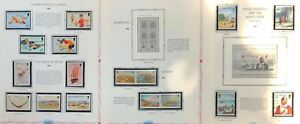 Lot of Isle of Man Year 1986-1987 Stamps MNH