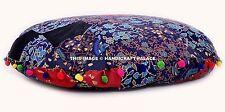 "Floor Pillow Cover Cotton Mandala Large Patchwork Handmade Cushion Pouf Sham 32"""
